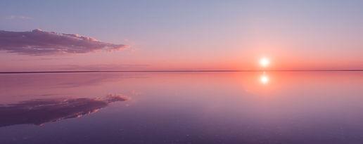 Landscape beautiful golden sunset red sk