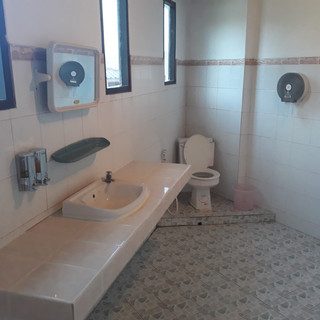 Bathroom with Hot Shower