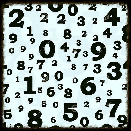 Thème numérologique complet
