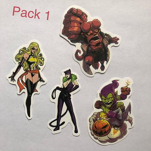 Heroes Sticker Packs