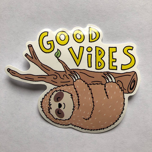 Good Vibes Sloth