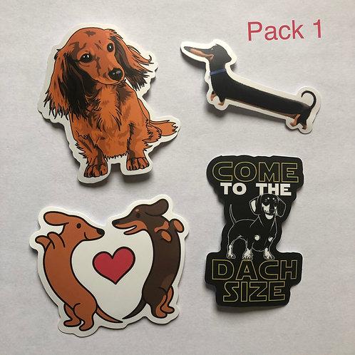 Dachshund Sticker Packs