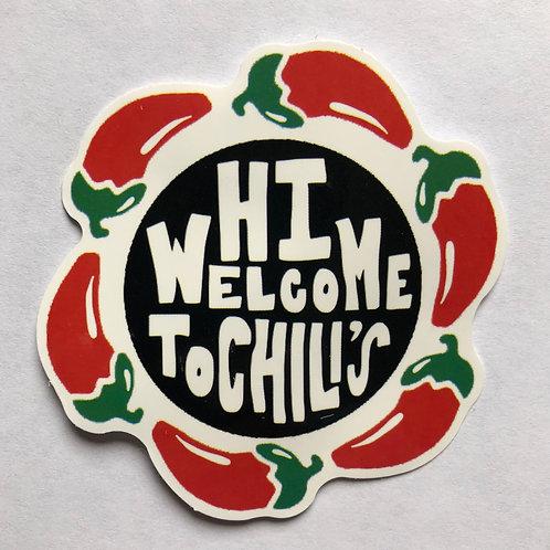 Hi Welcome To Chili's