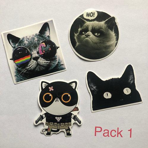 Cat Sticker Packs