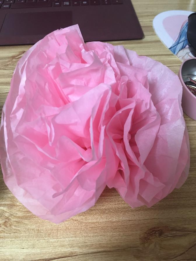 新化する紙花