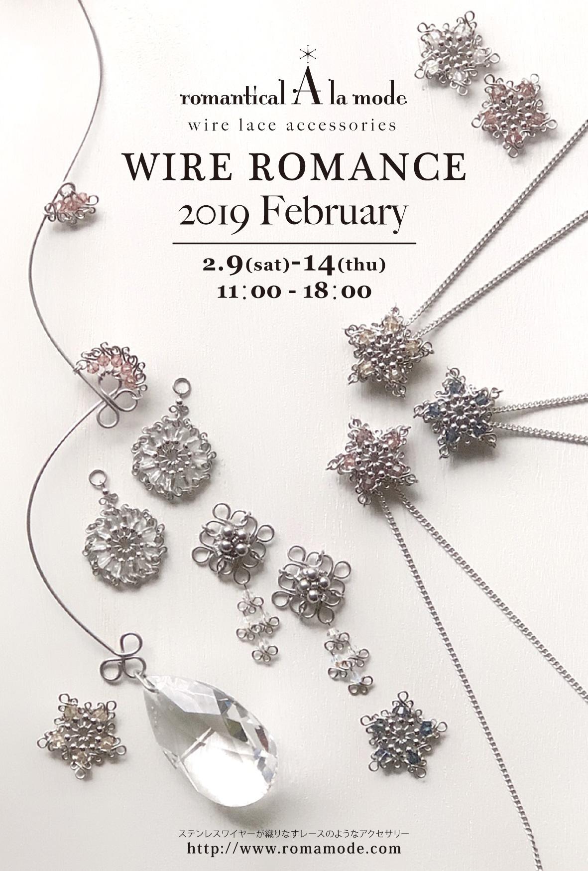 個展『WIRE ROMANCE 2019 February』