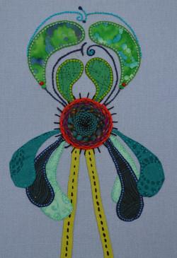 Alien Flower High-updo