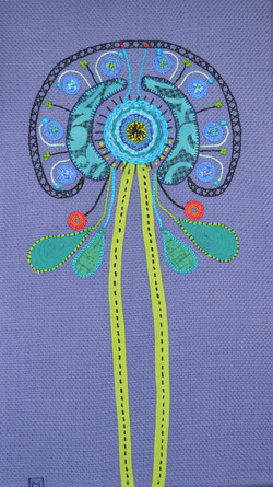 Hairnet Alien Flower