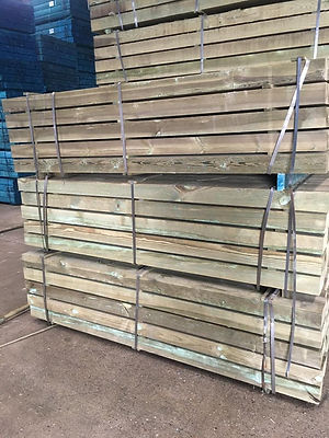 Ukraine KD UC4 green treated sleepers (2