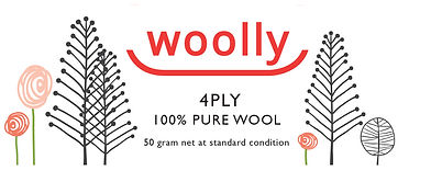 Woolly 4ply Machine Wash Label