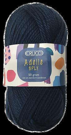 Adele 8ply acrylic yarn shade 119 navy