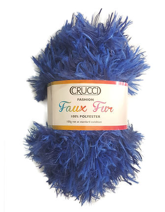 Faux Fur Yarn by Crucci
