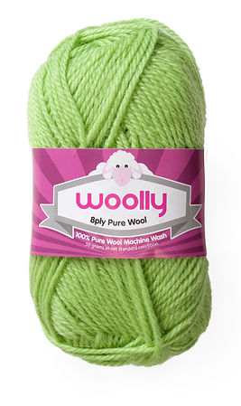 8ply Machine Wash Pure Wool