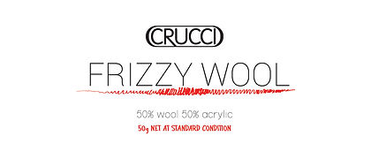 Frizzy Wool Label