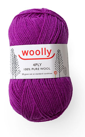 Woolly 4ply Machine Wash