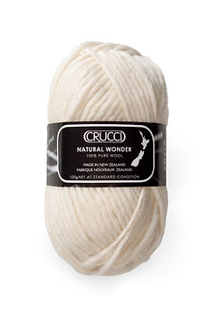 Natural Wonder Pure NZ Wool by Crucci