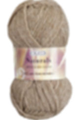 Crucci Naturals 8ply Wool Mid Brown