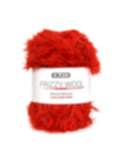 Frizzy Wool Acrylic Wool Blend Yarn by Crucci
