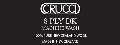 Machine Wash 8ply Label
