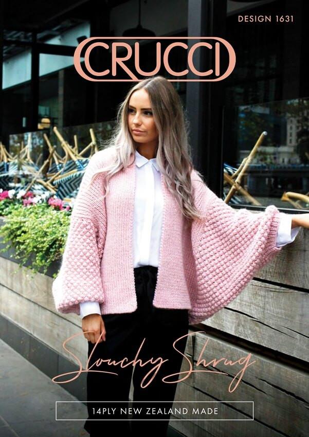 38b0bff4c0214 ... Merino wool · CRUCCI 1631 Slouchy Shrug Pattern ...