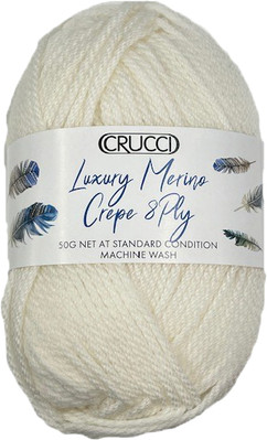 Crucci Luxury Merino Crepe 8ply Ball Tra