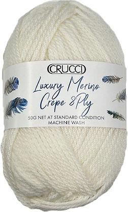 Crucci Luxury Merino Crepe 8ply Ball Tra