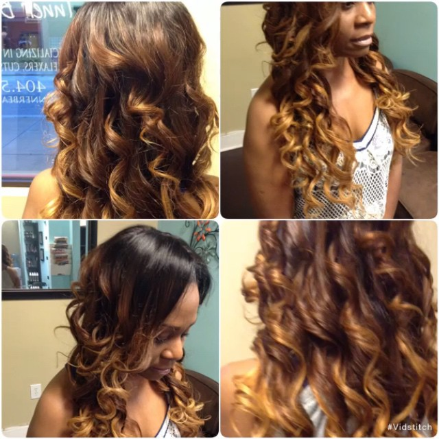 Sew-in done by Khetty