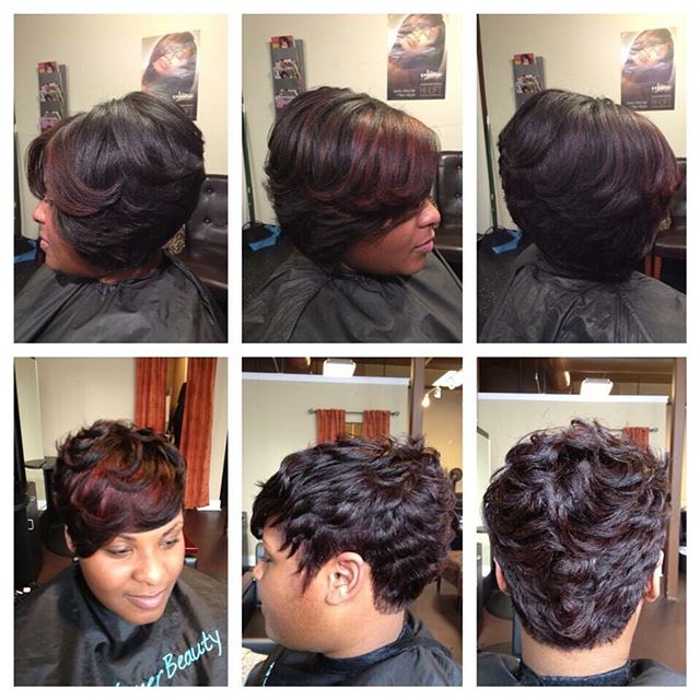 A blast from the past! What do you think Beauties, long or short_ #boblife #pixiecut #healthyhair #i