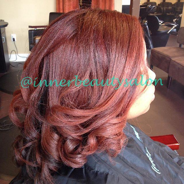 GOT COLOR_!_ Schedule today 404-549-2034 #pravana #pravanacolor #healthyhair #haircare #curls #natur