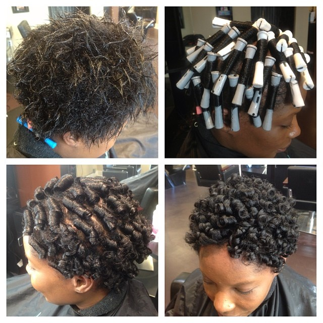 This is a great style for transitioning clients wanting to go natural!! #naturalhair #protectivestyl