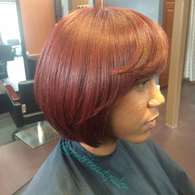 Refresh your look with some bold color! #healthyhair #haircare #color #Pravana #cut #naturalhair #in