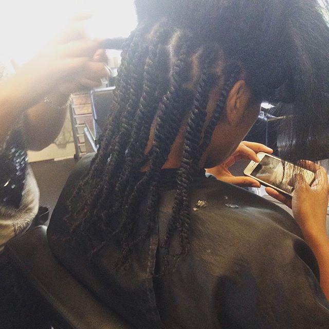 Kinky Twist #hairmaintenace #teamnatural #teamhealtyhair #innerbeautysalon #innerbeauty #atlsalon #a