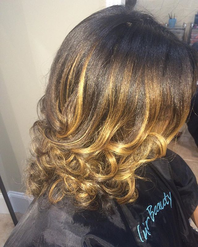 Don't let the summer go by without getting a touch of color!! #innerbeautysalon #color #balyage #pra
