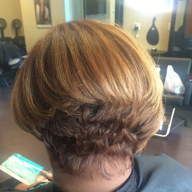 Healthy natural hair!! #atlantasalon #naturalhair #innerbeautysalon
