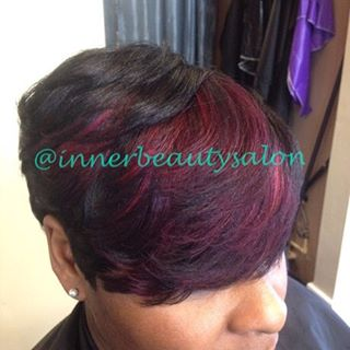 Don't let the summer pass without your BANG of color! #pravana #color #highlights #healthyhair #shor