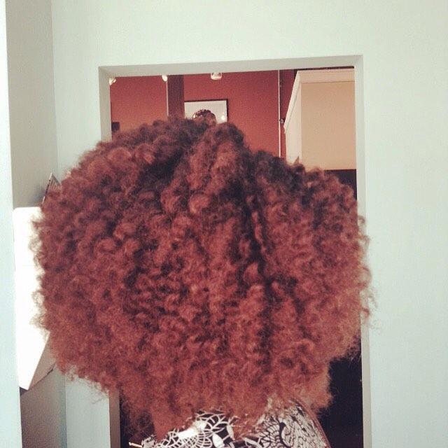 Ombré and Twist set by Denise! #hairmaintenace #teamnatural #teamhealtyhair #innerbeautysalon #inner