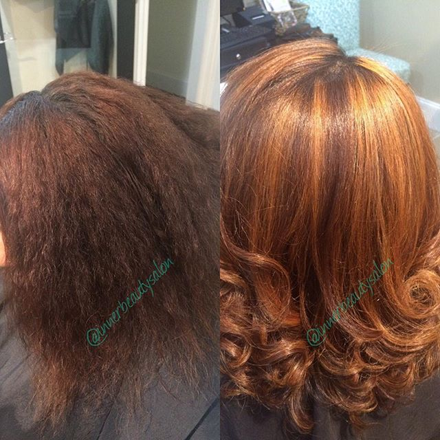 Morning Beauties! Put a little spice in your color for the fall! #innerbeauty #color #pravana #hairc