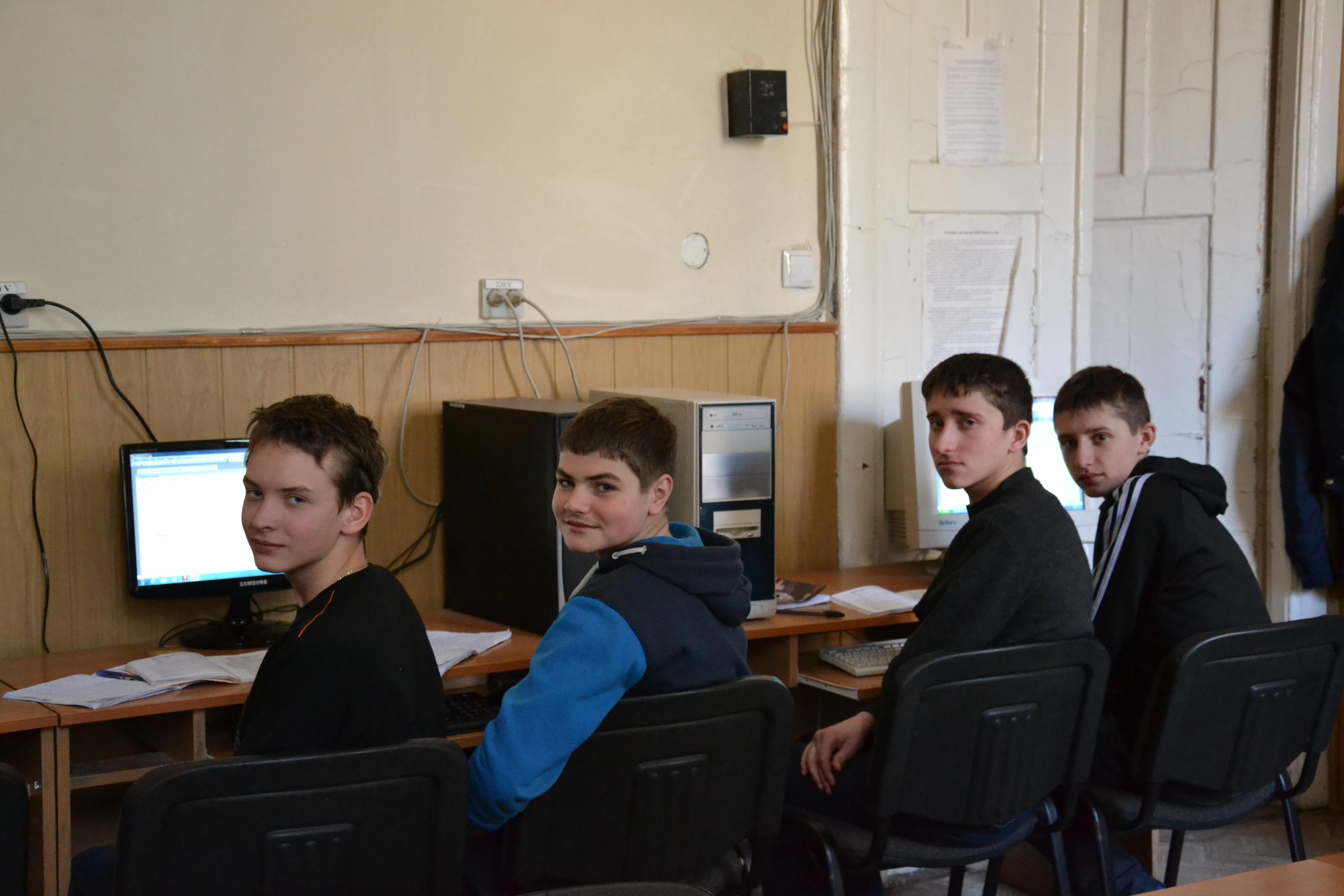 Навчання в комп'ютерному класі