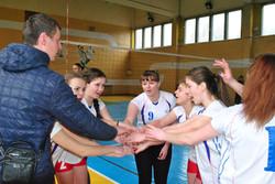 Команда коледжу з волейболу