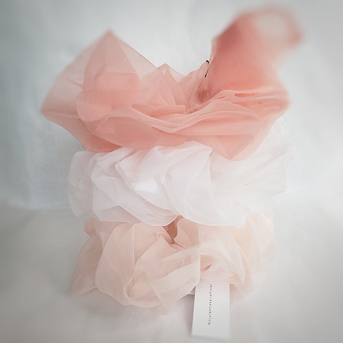 Duplantis Hair Official Tulle Scrunchies
