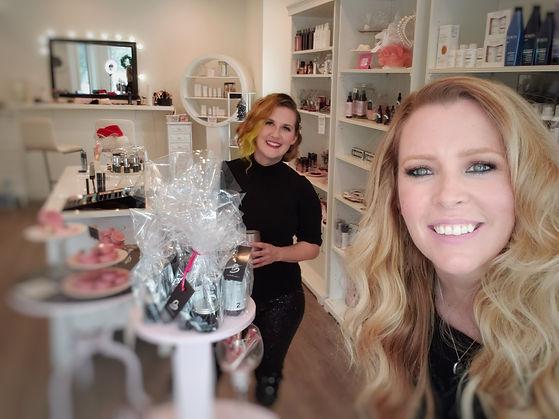 Meet Blush owners Erica and Krista in Regina Saskatchewan