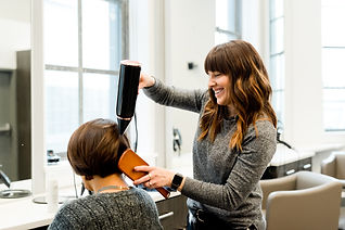 View our Hair services from the Hair Bar