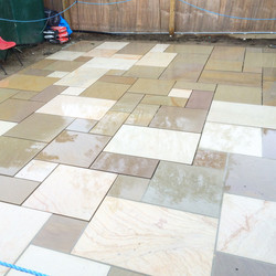 Indian Stone Patio 3