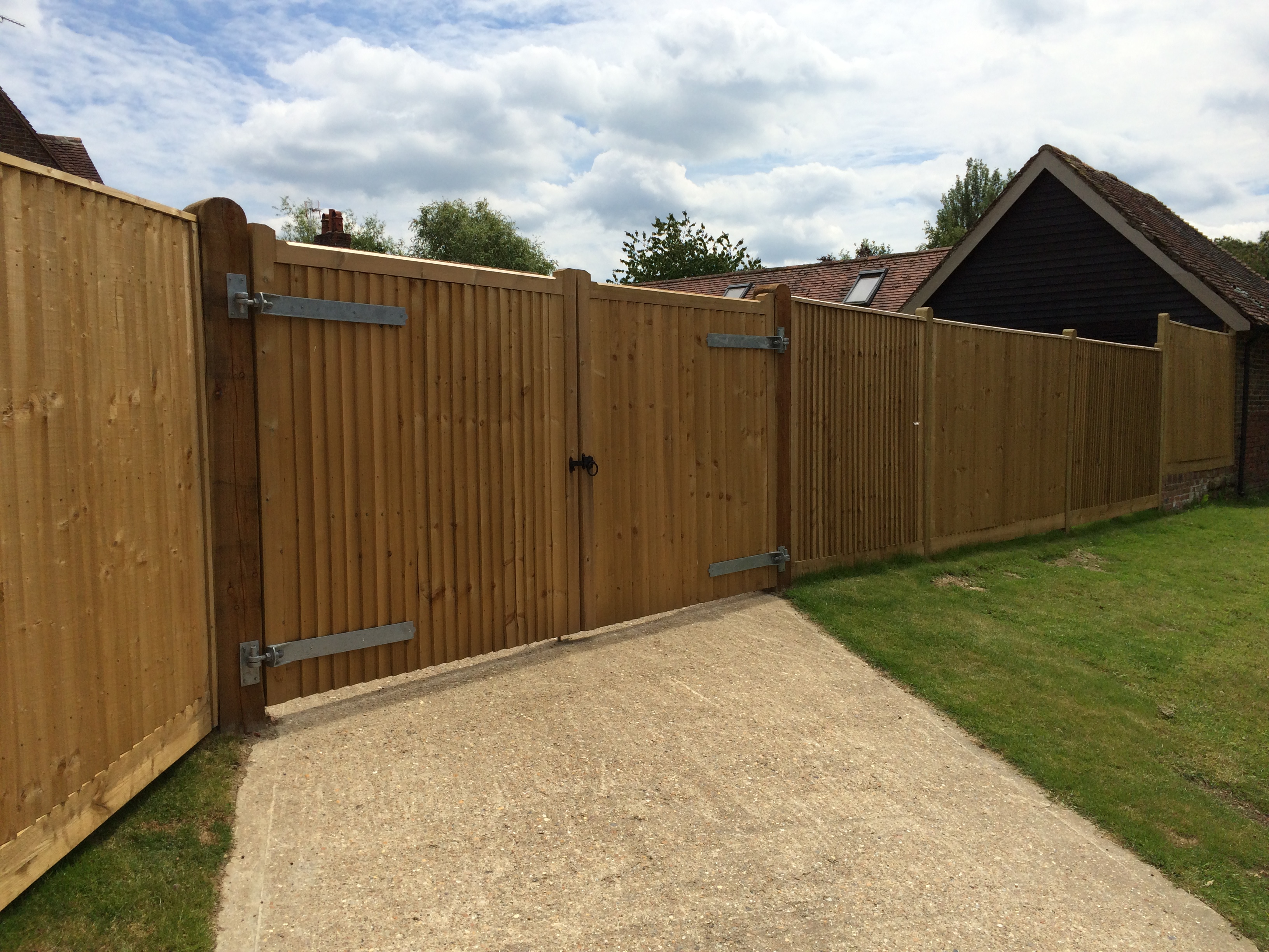 Closeboard with Heavy Duty Gates