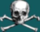 Skull and Crossbone public domain image