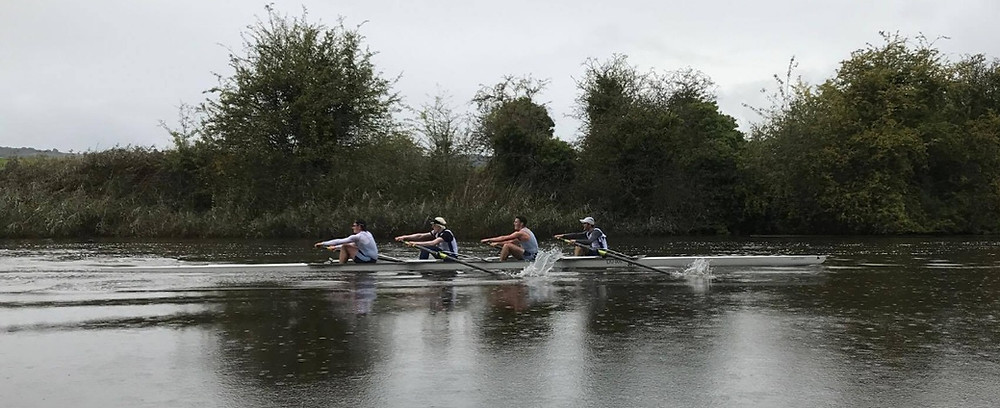 Mens 4- at Runcorn Small Boats. They raced time only but was the second fastest boat on the water