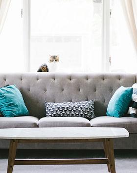 Grey Living Room Divano