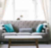Grau Wohnzimmer-Sofa