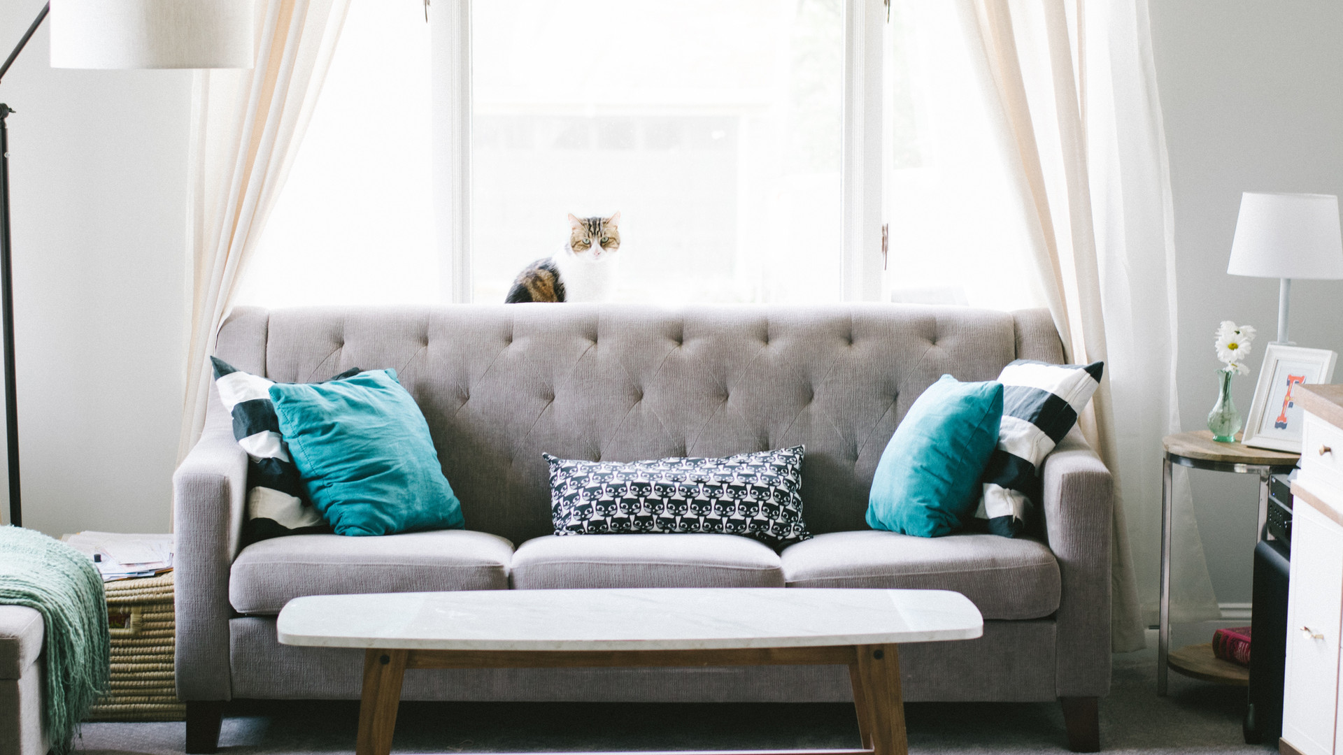 Space planning and accessorize a living room