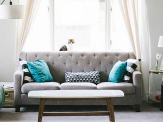 Grey Living Room Sofa
